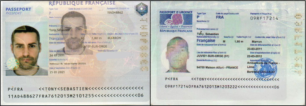 passeport valable