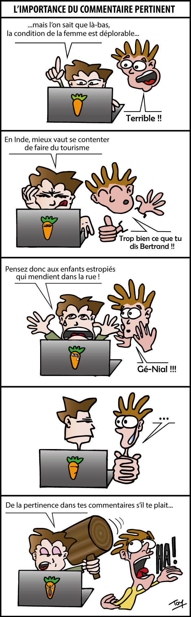 Commentaire Pertinent
