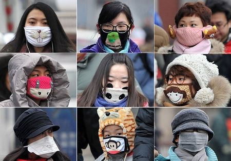 masque de pollution japonais